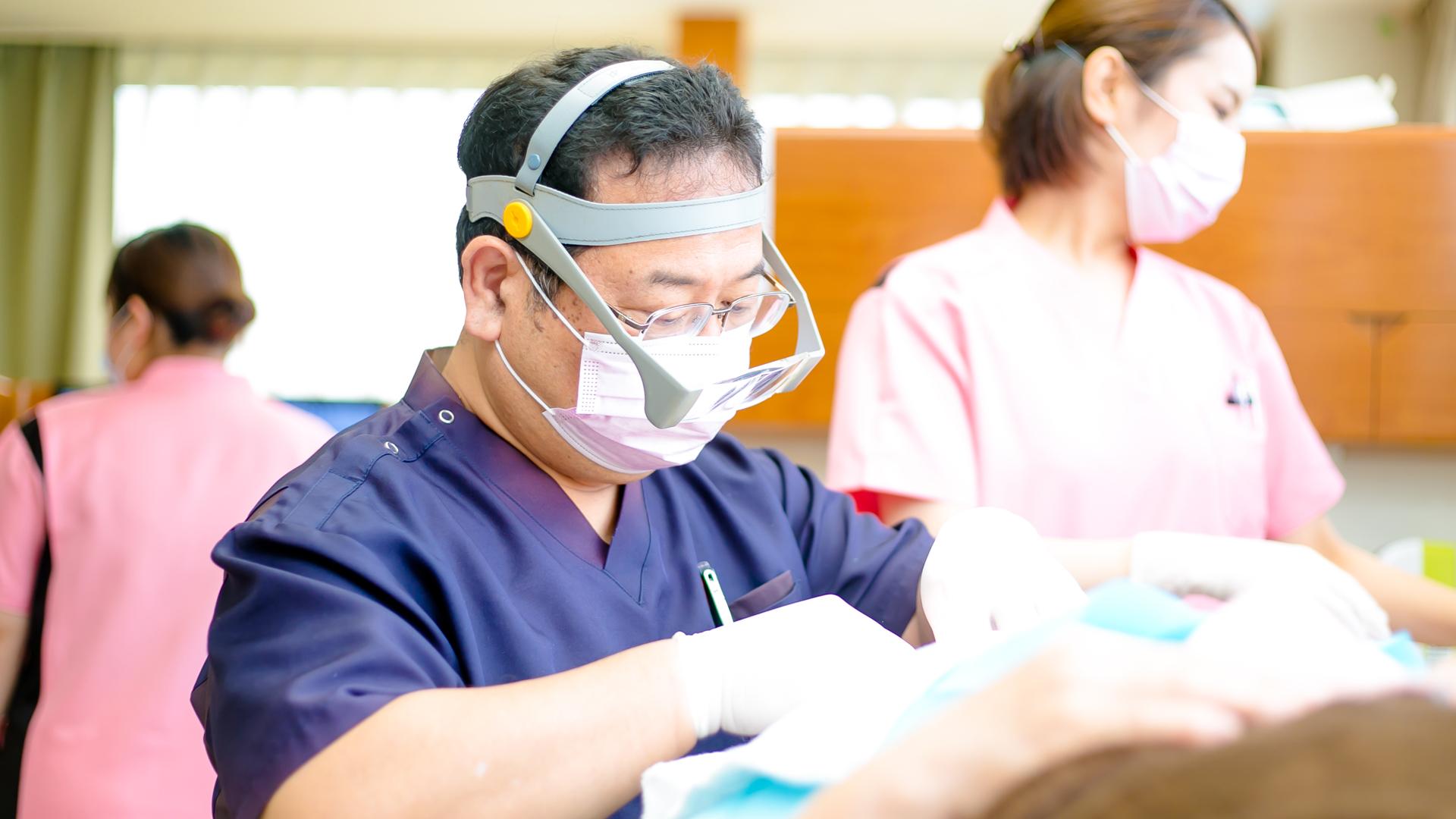 鹿児島 姶良 歯科医 歯科医院 中山歯科 歯周病専門医 ホワイトニング インプラント